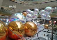 3M Big Commercial PVC Shining Inflatable Mirror Balloon Ball Small Order Acceptable