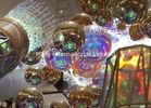 Advertising Silver Inflatable Mirror Balloon Reflective Ball Theme Decoration Use