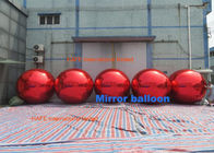 Christmas Mirror Balloons Red Gloden Blue Silver Color Can Keep Air 1 Year