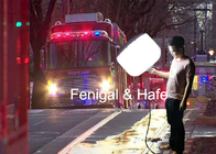 400w Glare Free Lighting With Portable Packing Hicase For Flood Emergency Rescue
