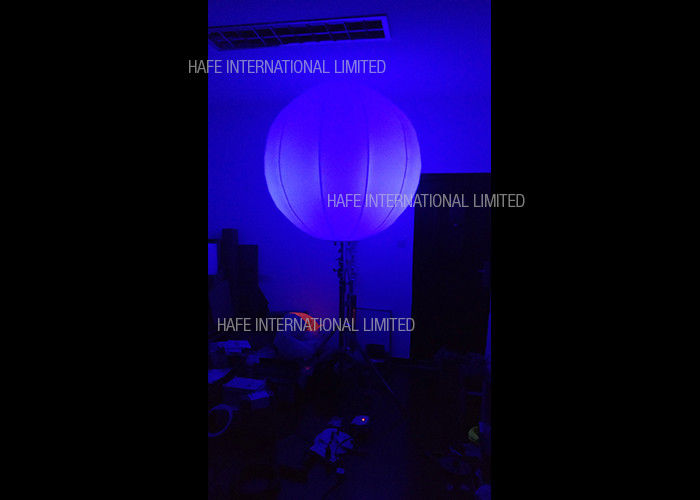 Events Space Outdoor Special Effect Balloon Lighting With 72 Watt Color Changing LED