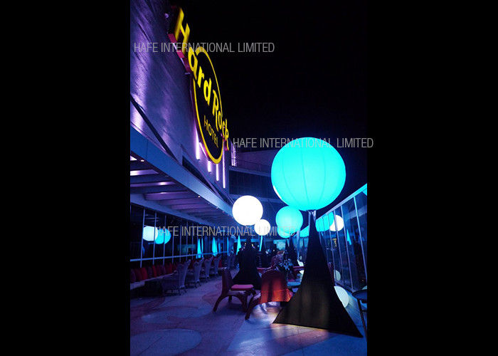 Muse Color Series Inflatable Led Light Night Decoration Custom PVC Logo Outside