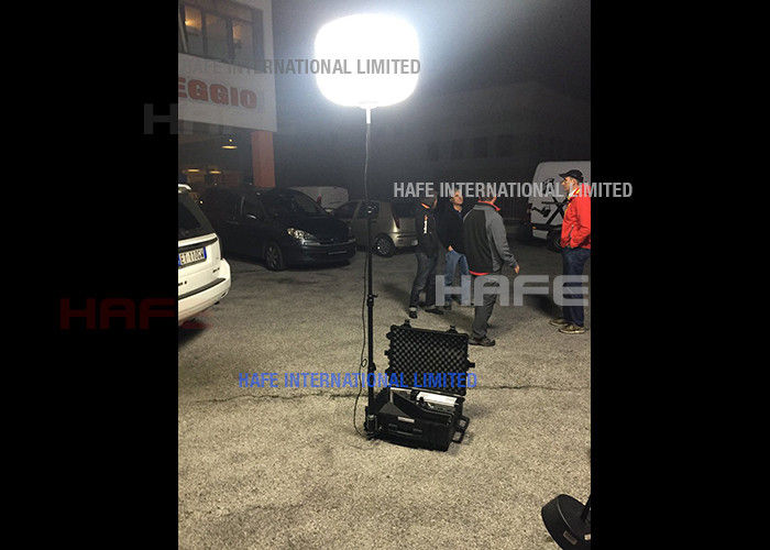Inflatable Portable Rechargeable LED Lights 200W For Road Rescue / Night Build Work