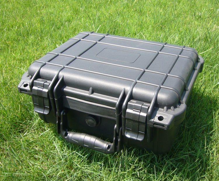 IP67 DEMO Waterproof Flight Road Case M3 Hard ABS Plastic Protective 790 * 595 * 365 MM