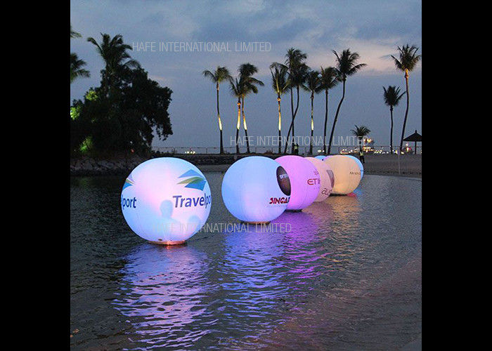 LED 72W RGB Attractive Inflatable Floating Water Balloon AC230V 50HZ / AC120V 60HZ